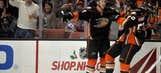 Vermette, Perry help Ducks overpower Senators 5-1