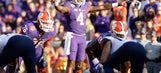 Clemson remains in position to make playoff; Louisville stumbles in CFP rankings