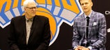 Phil Jackson says he warned Lakers not to pass on Kristaps Porzingis