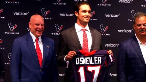 Houston Texans: Brock Osweiler, QB
