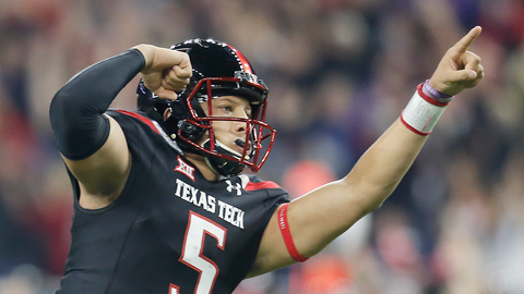 T-No. 5 Texas Tech (7-5, 5-4 Big 12)