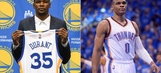 NBA schedule released: KD, Warriors visit OKC in February