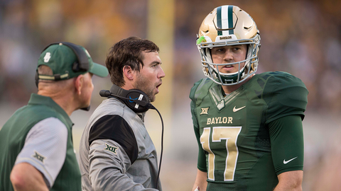 No. 21 Baylor 38, Rice 10 (Friday night)
