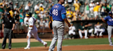 Rangers lose to A's, tied with Boston for home-field advantage