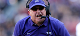 TCU coach unhappy with refs, takes swipe at Baker Mayfield