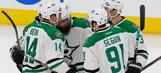 Eaves, Lehtonen lead Stars to win over Oilers
