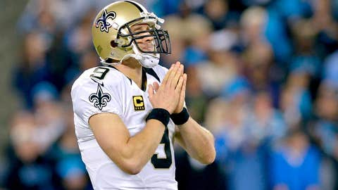 New Orleans Saints: .438 (7-9)