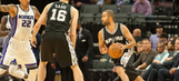 Spurs hold off Kings' late rally to stay perfect on road
