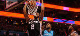Spurs stay perfect on road with win over Hornets