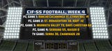 Week 4: Scores from our five CIF-SS football games