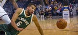 Bucks give up early lead in preseason loss to Pacers