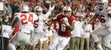 Badgers' upset bid falls short against No. 2 Ohio State in 30-23 OT loss