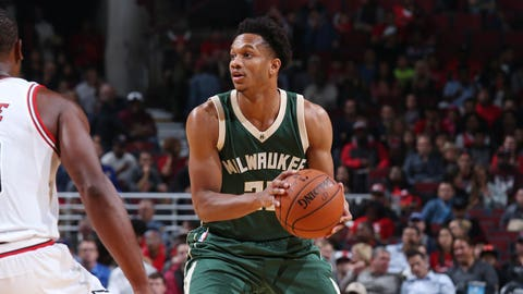 Rashad Vaughn, Bucks guard (↓ DOWN)