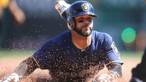 Jonathan Villar (SS/3B/2B) -- Milwaukee Brewers (5/2/91)
