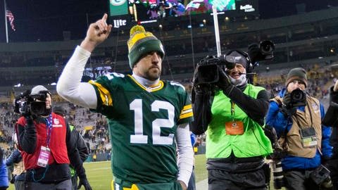 Packers (-6.5) over BEARS (Over/under: 40.5)