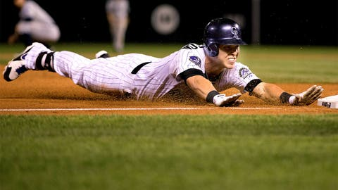 Left field: Corey Dickerson, Rockies