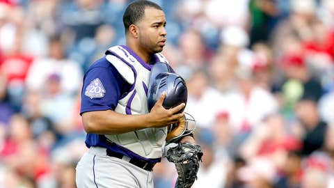Catcher: Wilin Rosario, Rockies