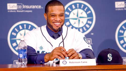 Second base: Robinson Cano, Mariners