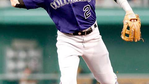 Shortstop: Troy Tulowitzki, Rockies