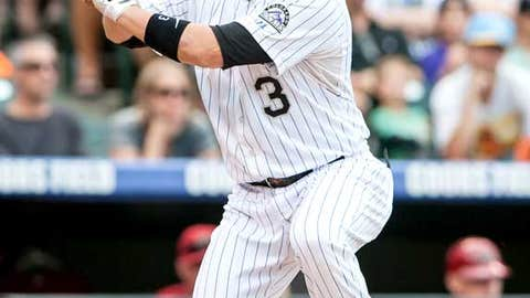 Right field: Michael Cuddyer, Rockies