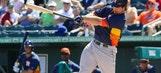 Astros release infielder Brett Wallace