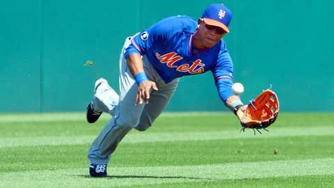 Centerfield: Juan Lagares, Mets; Marcell Ozuna, Marlins