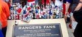 Rangers fans trash tribute to fan who fell to death in 2011