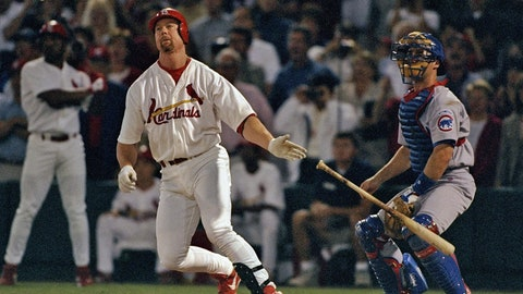 10. Mark McGwire — 583 HRs