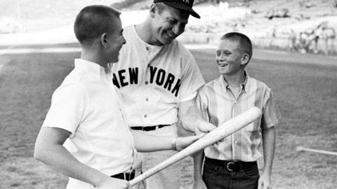 Mickey Mantle: New York Yankees (1951-1968)