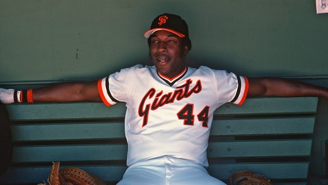 20 (tie). Willie McCovey — 521 HRs