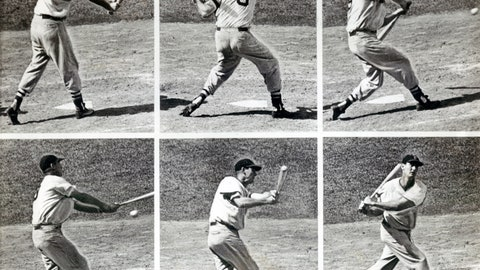20 (tie). Ted Williams — 521 HRs