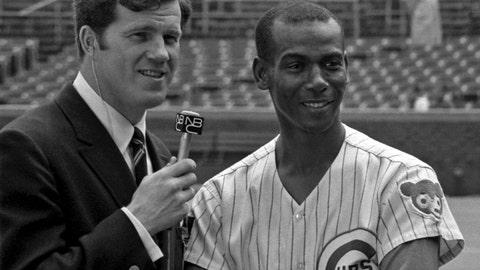 23 (tie). Ernie Banks — 512 HRs