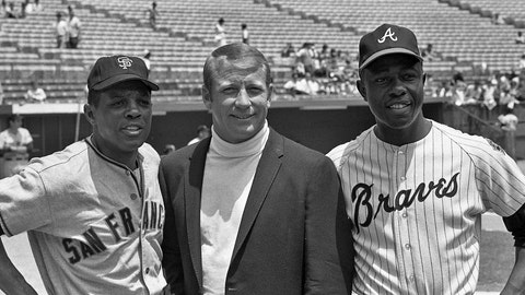 Willie Mays and Mickey Mantle