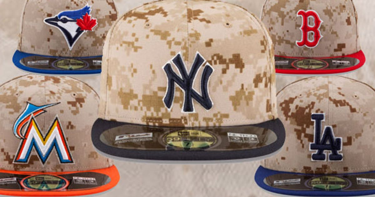 f0041d869 MLB s camo-style hats for Memorial Day could use some work