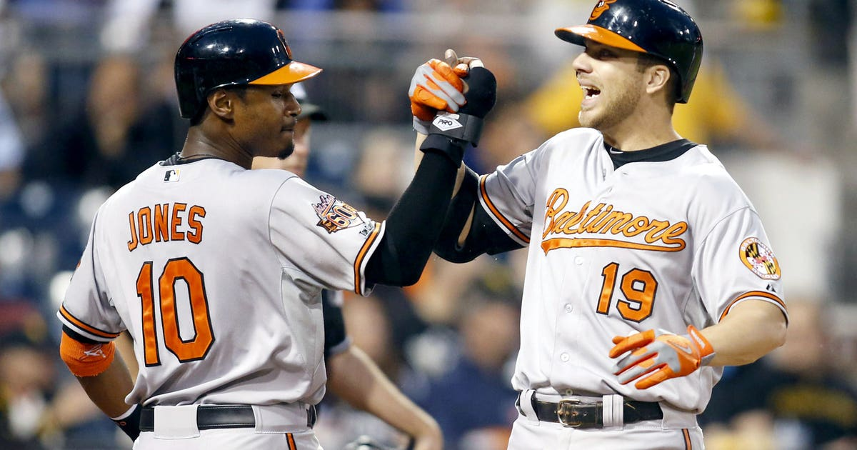 Chris Davis Adam Jones Talk Orioles Superlatives Fox Sports
