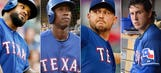 Unfavorable amount of injuries decrease Rangers' win projection