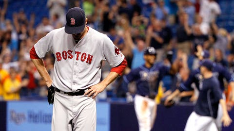May runner-up: May 15-25 -- Red Sox's first-to-worst fall begins with 10-game skid