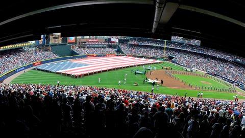 Turner Field, Atlanta: Red Sox at Braves