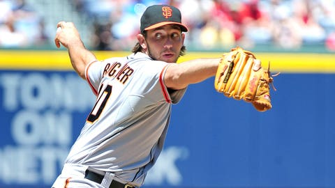 May NL Pitcher of the Month: Madison Bumgarner, Giants