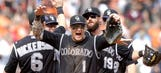 Rockies do it again! Beat Giants closer Romo with 9th-inning rally