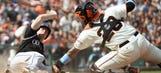 Rockies get weekend sweep of Giants; Posey makes early exit