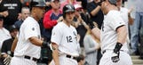 White Sox pound Giants' Hudson, Abreu continues to amaze