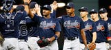 Uptons both homer, tie major-league record as Braves top Astros