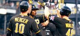 Polanco's bat, Worley's arm lead Pirates past visiting Mets