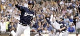 Braun's walk-off RBI sends Brewers past Rockies for 50th win