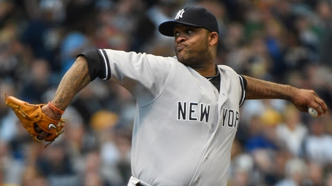 15. C.C. Sabathia, New York Yankees: $161 million over 7 years