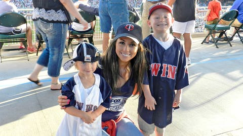 How cute are these young Twins fans?