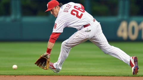 Second base: Chase Utley, Phillies; Daniel Murphy, Mets