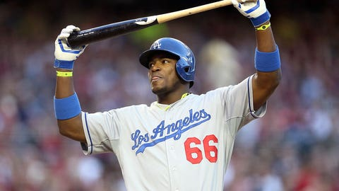 NL OF: Yasiel Puig, Dodgers