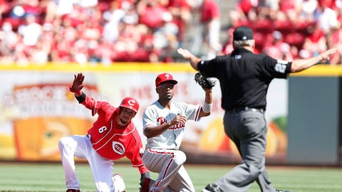 June NL Rookie of the Month: Billy Hamilton, Reds